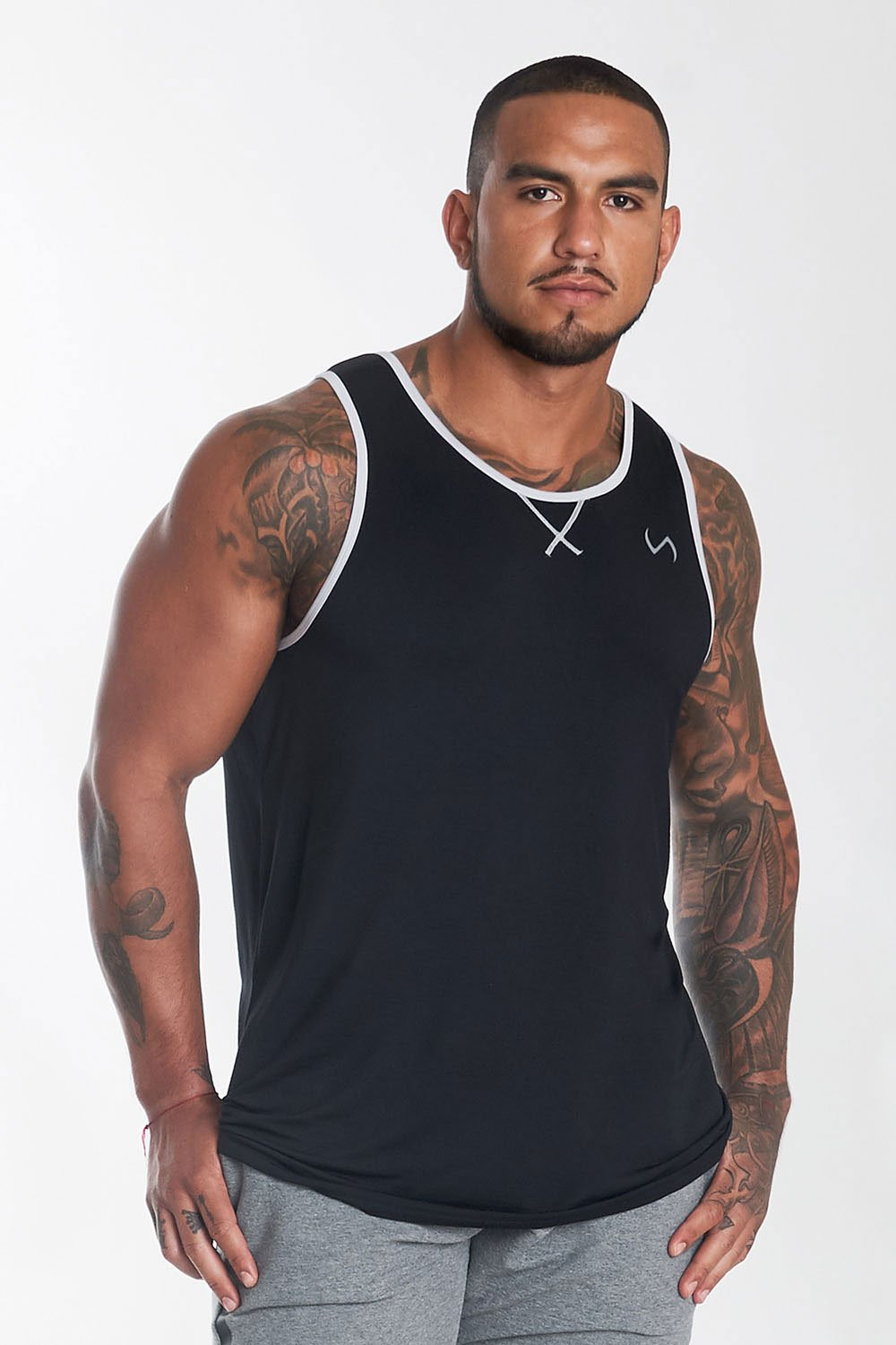 Daytona Tank: Black