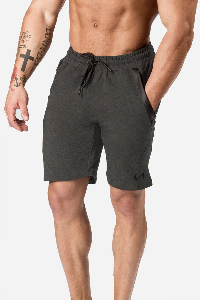 Iron Short: Dark Charcoal Heather