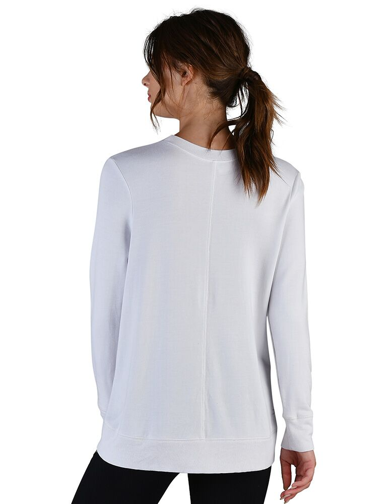 Adore Long Sleeve: White