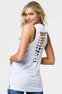 Braid Tank: White