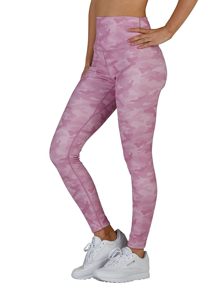 High Power Legging II: Orchid Haze Camo