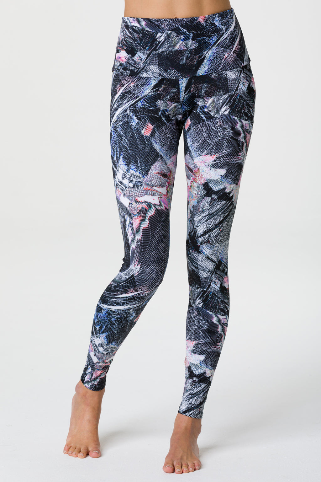 High Rise Graphic Legging: Science Fiction