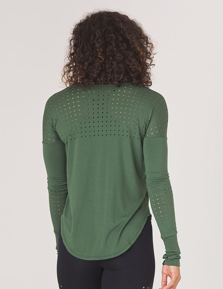 Mood Long Sleeve: Olive