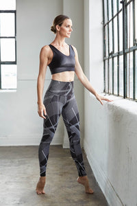 High Waist Signature Legging: Courtlines