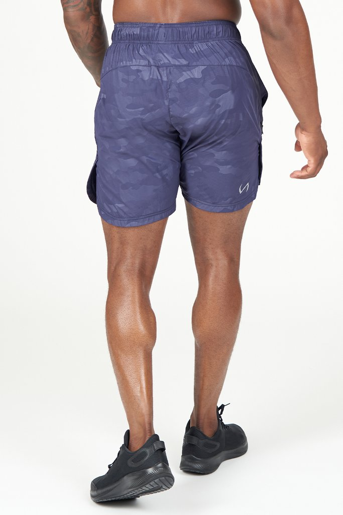 Element Shorts: Navy Camo