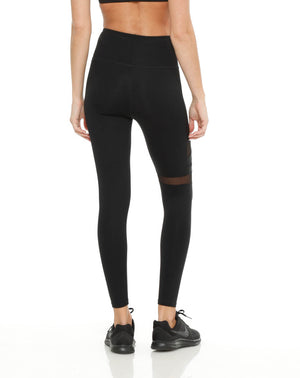 Lively Legging: Black Foil