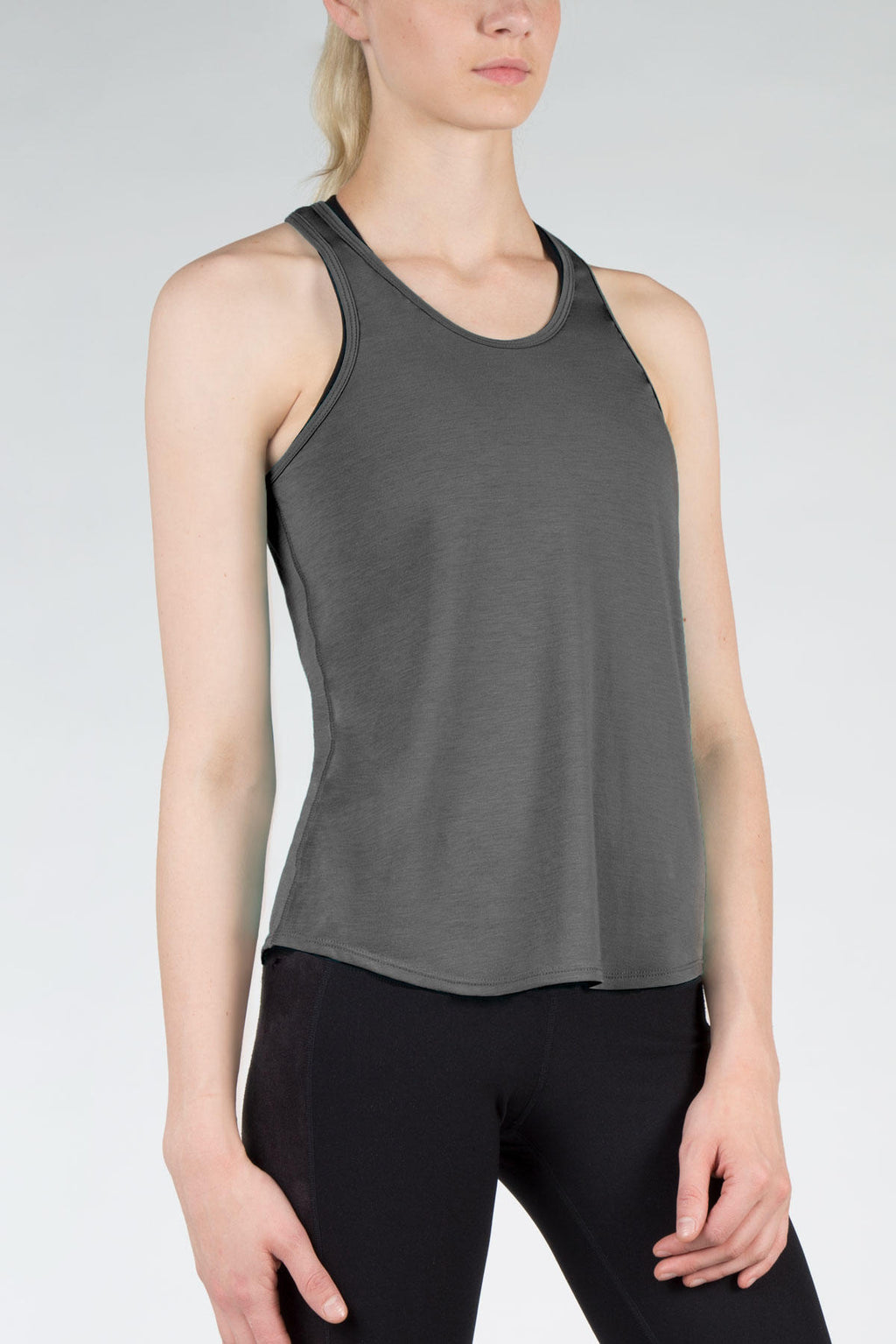 Shock 2.0 Signature Tank: Heather Charcoal