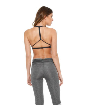 Simone Top: Gunmetal