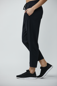Stretch Street Pant: Black