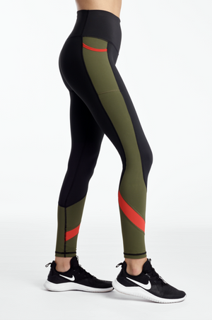 Tone Up Colorblock Tight
