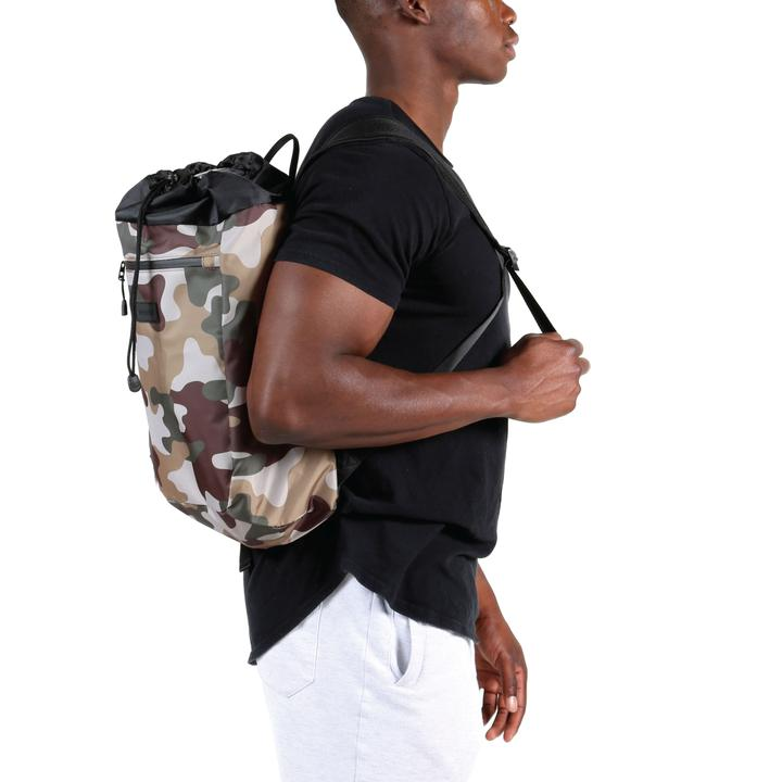 Stride Cinch Backpack: Camo