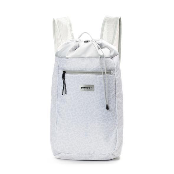 Stride Cinch Backpack: Snow Leopard