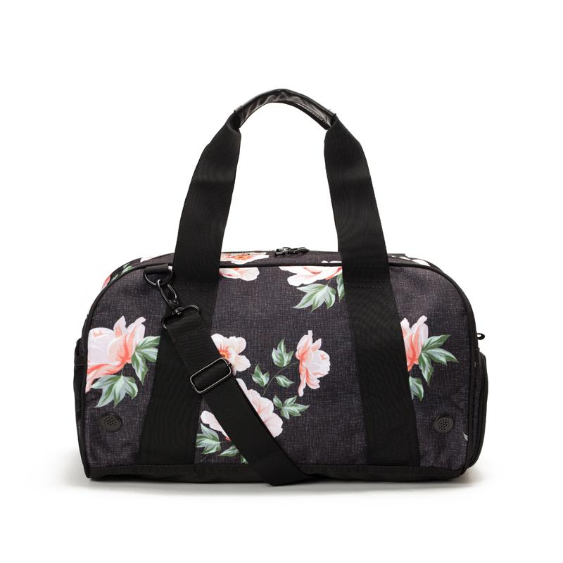 Burner Gym Duffel: Rose Black