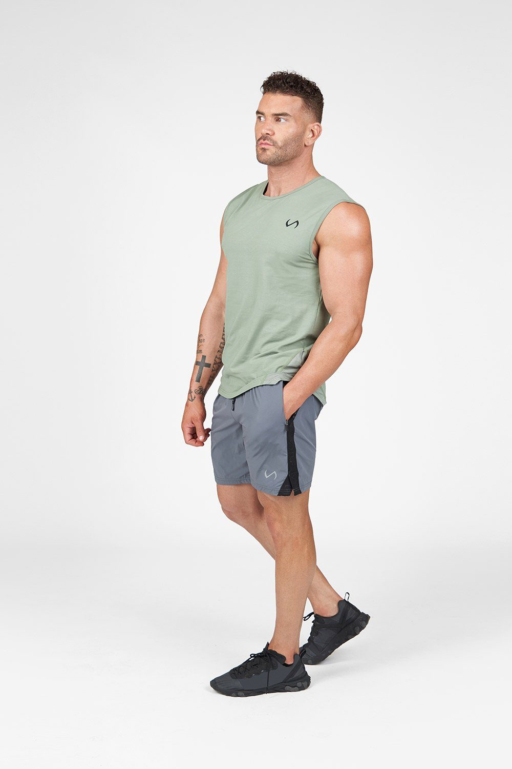 Air-Flex Gym Shorts: Turbulence