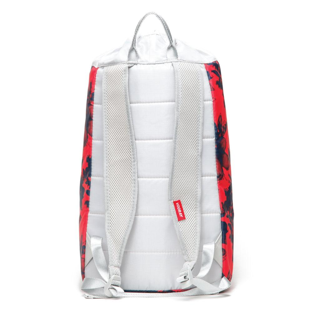 Stride Cinch Backpack: Ghost Red Floral