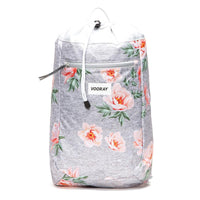 Stride Cinch Backpack: Rose Gray
