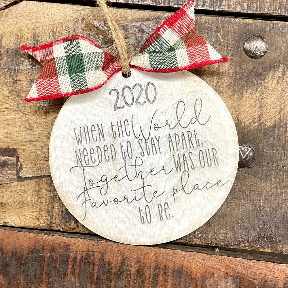 World 2020 Ornament
