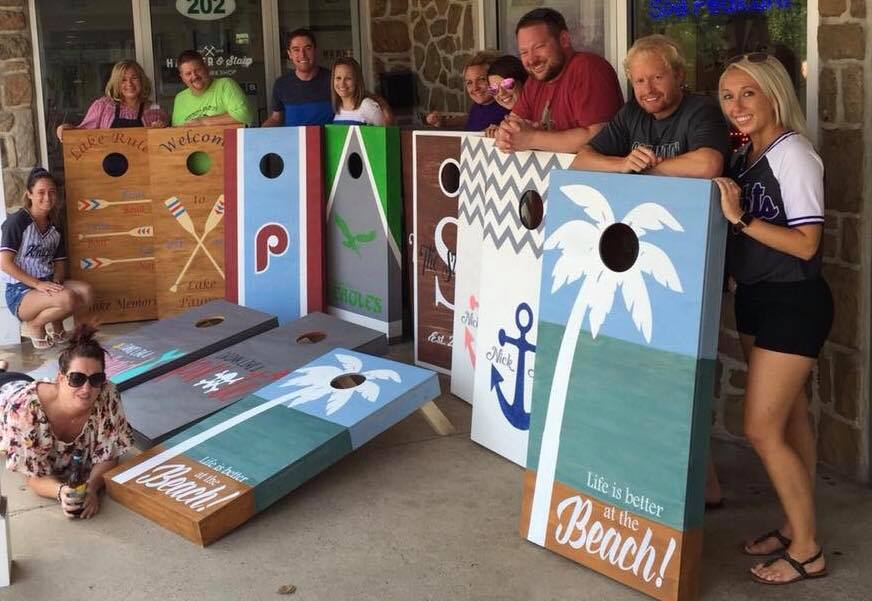 2/27/2021 (5:00pm) Cornhole Board Workshop
