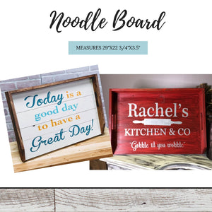 Retail- Noodle Board