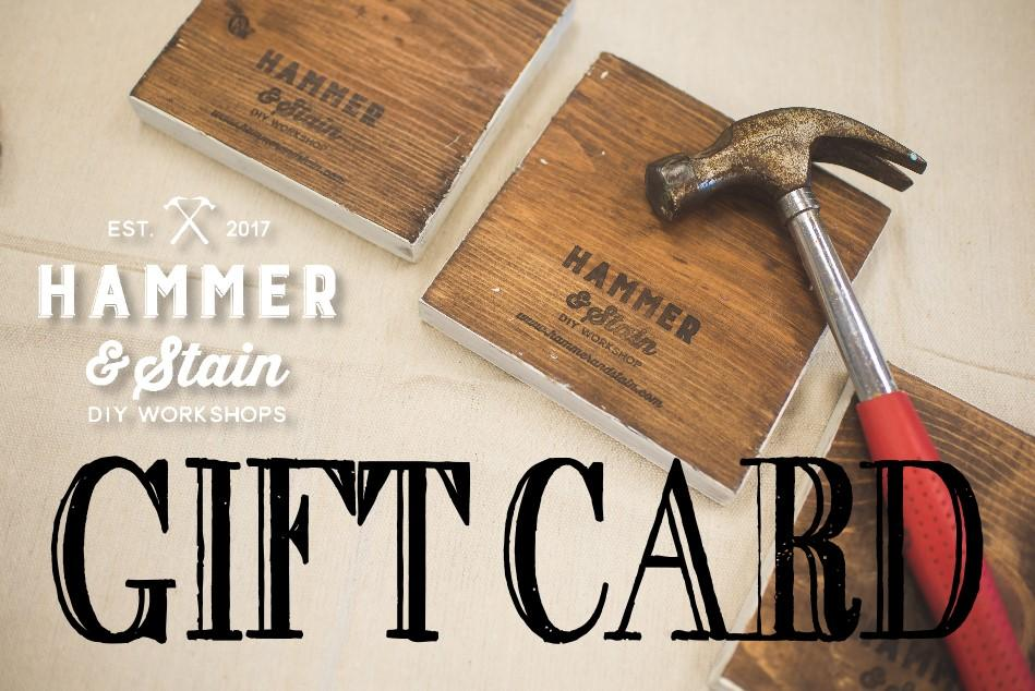 Hammer & Stain-DFW Gift Cards