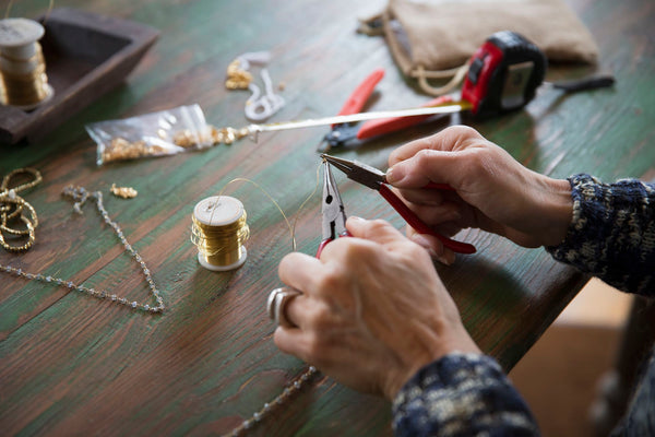 hand crafted jewelry making