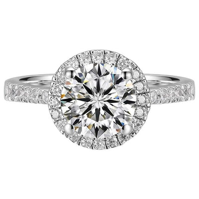1 Carat Moissanite Engagement Ring - FANCI ME
