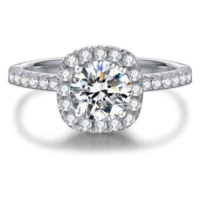 0.5 Carat Moissanite Engagement Ring - FANCI ME