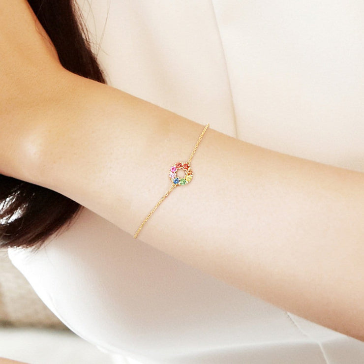 """Rainbow Flower"" Bracelet - FANCI ME"