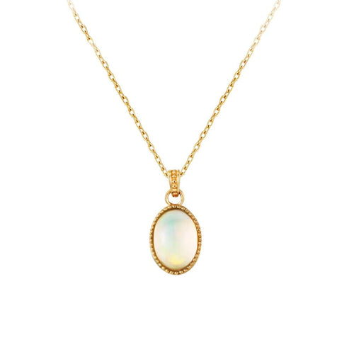 """Maria"" Natural Opal Necklace"