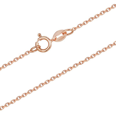18K Solid Gold Necklace Chain - FANCI ME