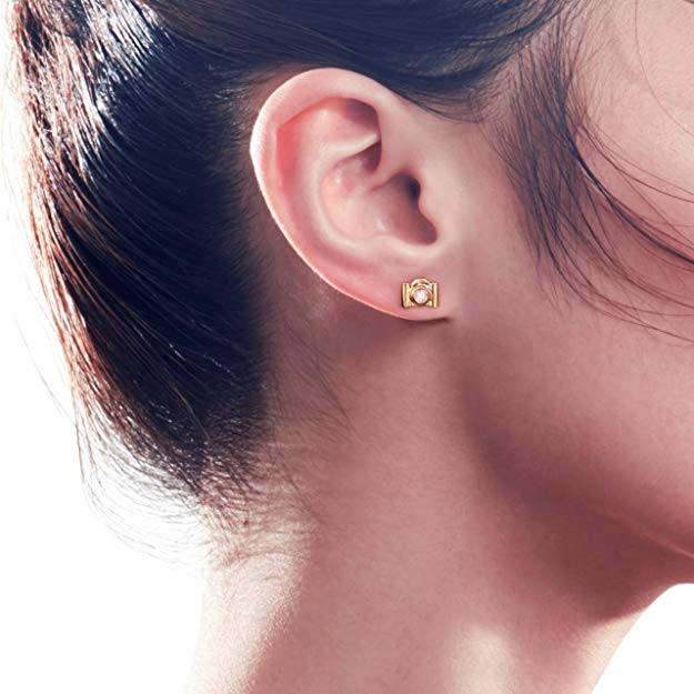 Camera Earring Stud - SINGLE - FANCI ME