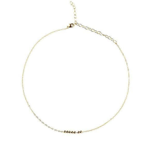 7 RINGS OF FRIENDSHIP GOLD NECKLACE - FANCI ME