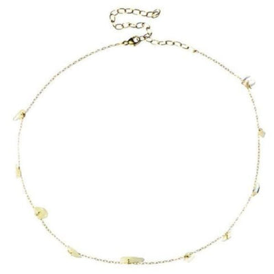 MOONSTONE GOLD NECKLACE - FANCI ME