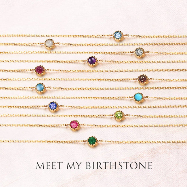 Delicate October Birthstone Tourmaline Bracelet