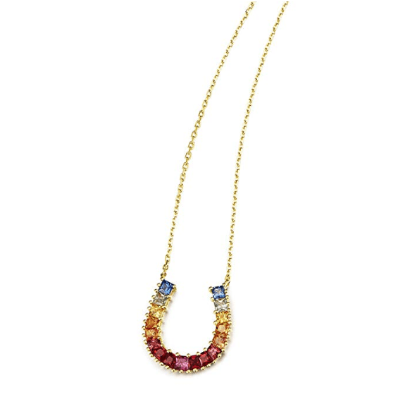 """Rainbow Shoehorn"" Necklace - FANCI ME"