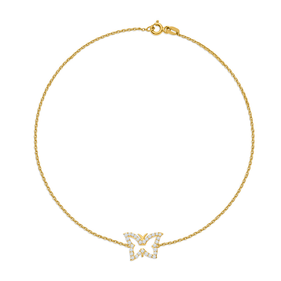Butterfly Diamonds Bracelet