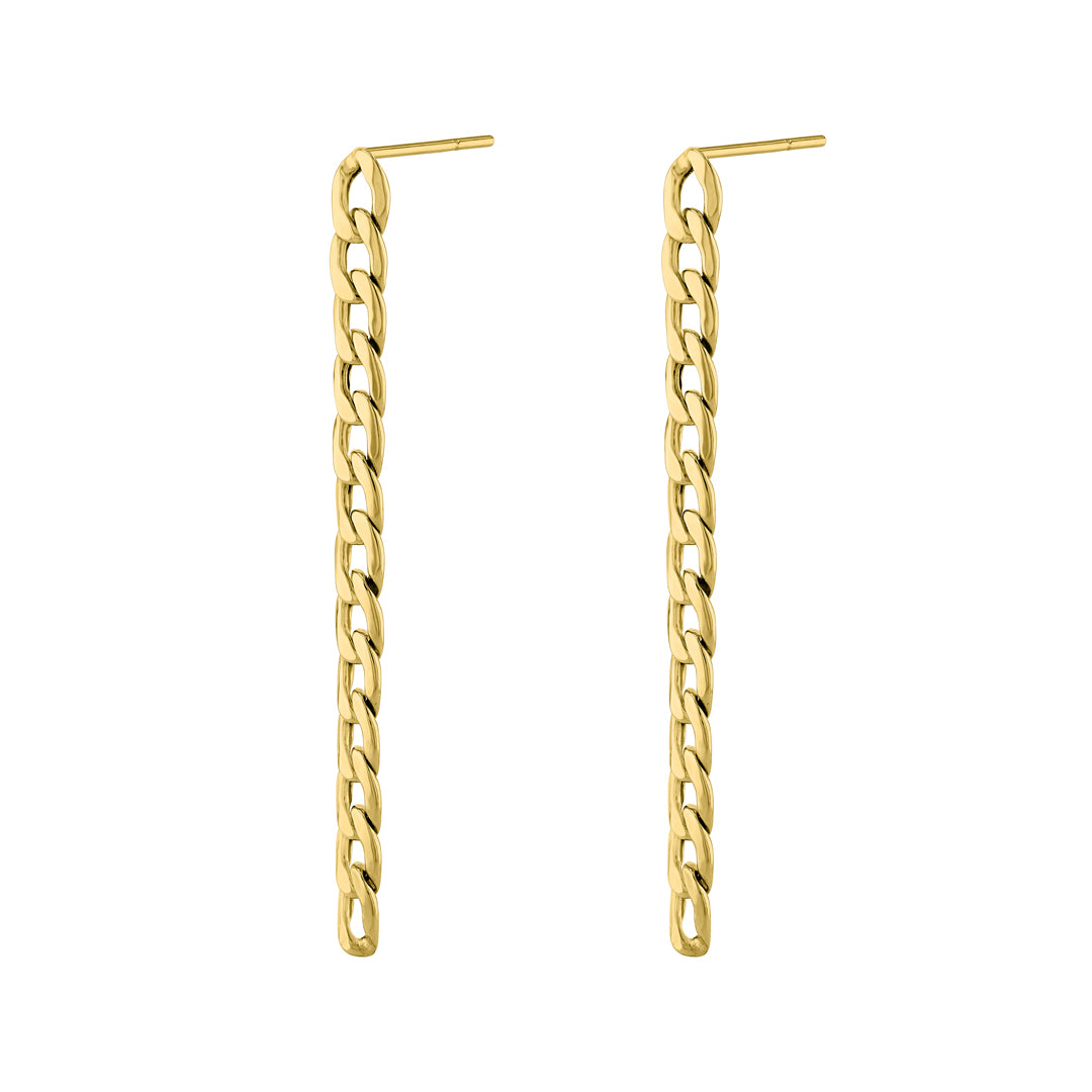 Bold Chain Reaction Earrings