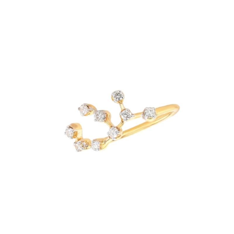 Virgo Constellations Ring