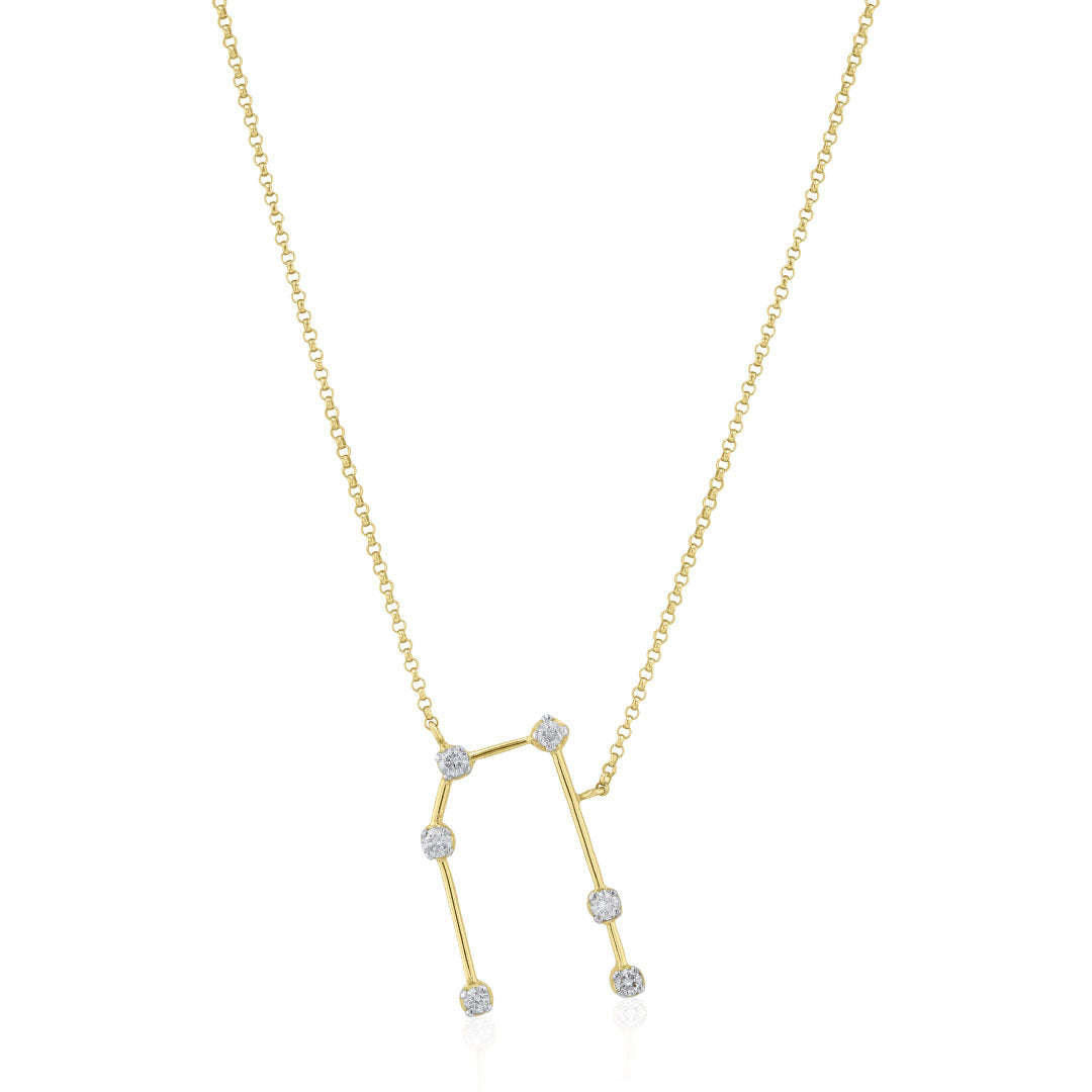 Gemini Constellations Necklace