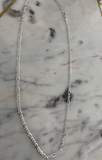 Thin Curb Silver Chain