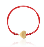 Heart Thread Bracelet