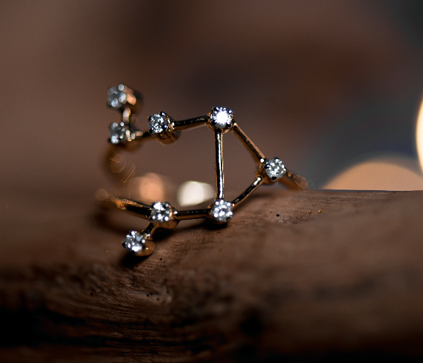 Libra Constellations Ring