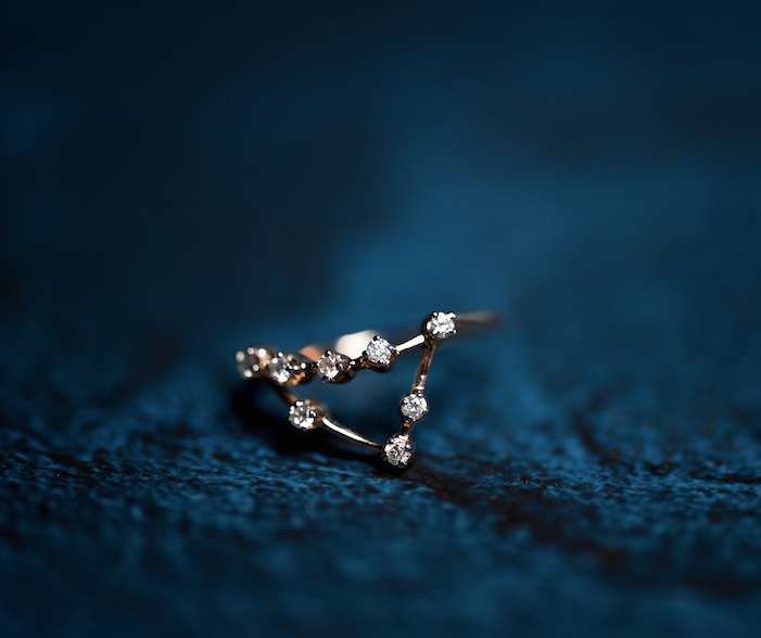 Capricorn Constellations Ring