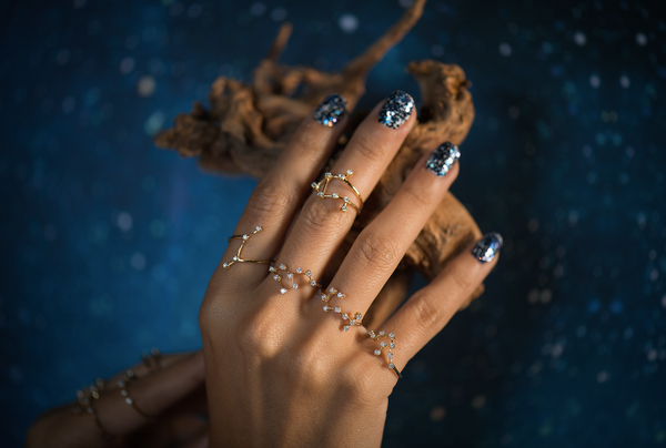 Scorpio Constellations Ring