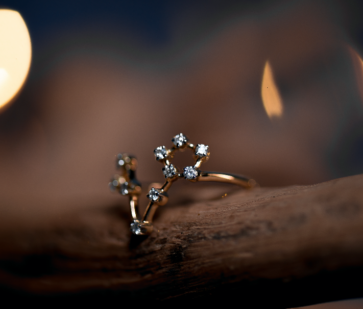 Pisces Constellations Ring