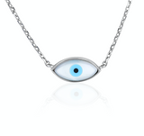 Something blue - Evil Eye Necklace