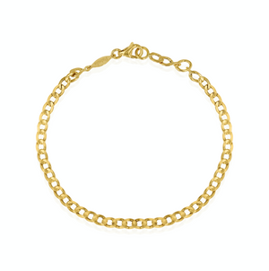 Thin Chain Reaction Anklet