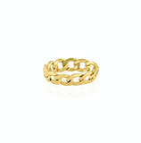 Bold Chain Reaction Ring
