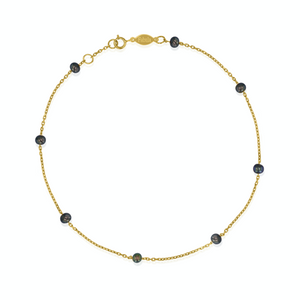 Black Pearl Quest Anklet.