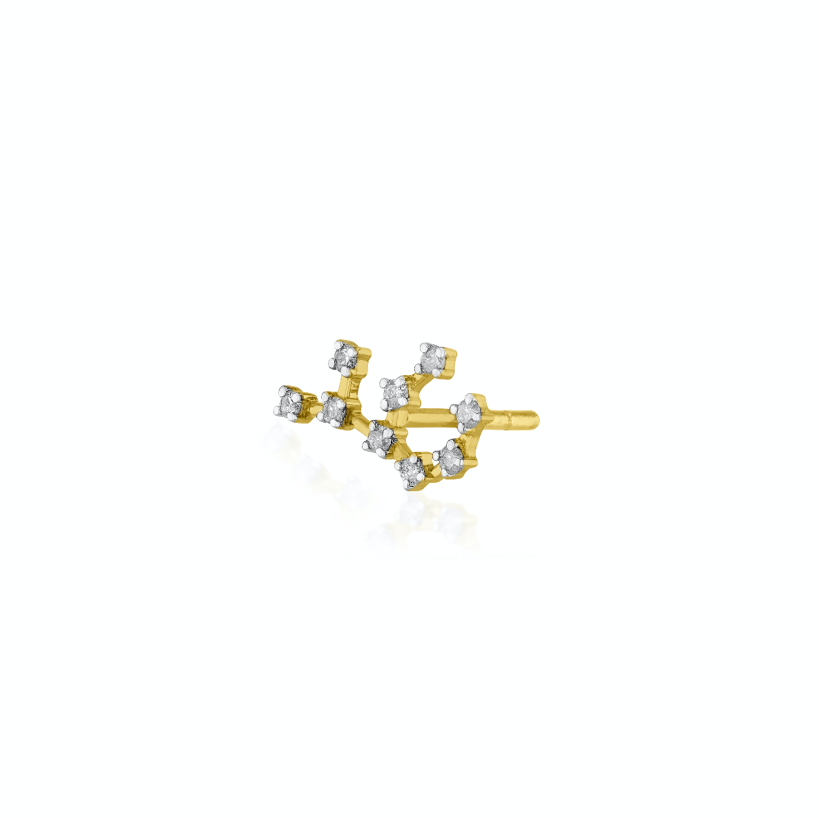 Virgo Constellations Earring